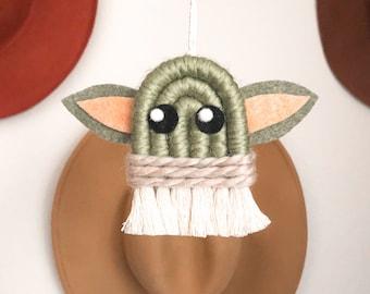 Baby Yoda Car Hanging
