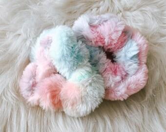 Furry Scrunchie