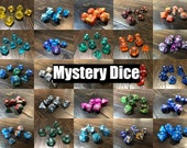 Mystery DND Dice Set Randomly Selected D D Dice Set Polyhedral Dice RPG Dice Dungeons and Dragons Free Same Day US Shipping