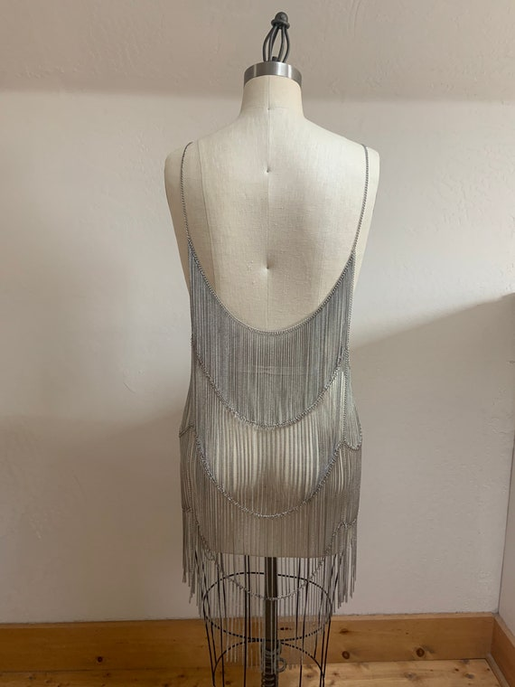 Free People Collection Metal Chain Flapper Dress - image 3