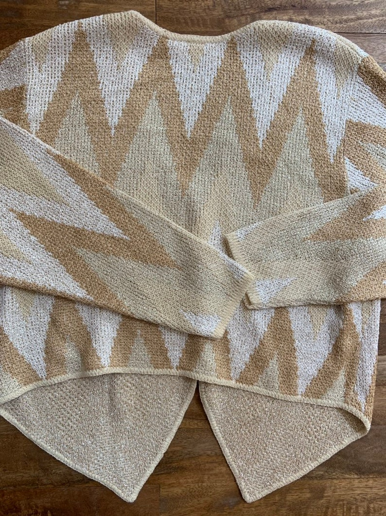 Vintage French Rags Cardigan