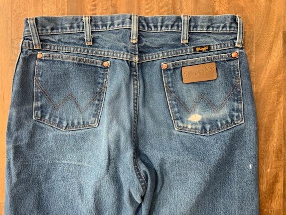 Vintage Faded Wrangler Jeans 35/32 - image 1