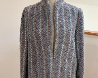 Vintage Woven 1980's  Coat