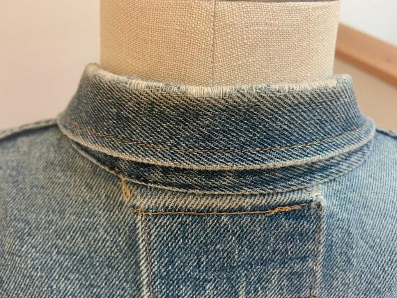 """Vintage Wrangler Jean Jacket  40"""" - image 10"""