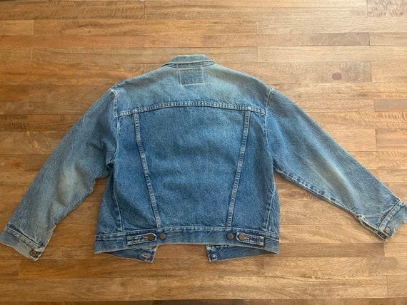 """Vintage Wrangler Jean Jacket  40"""" - image 5"""