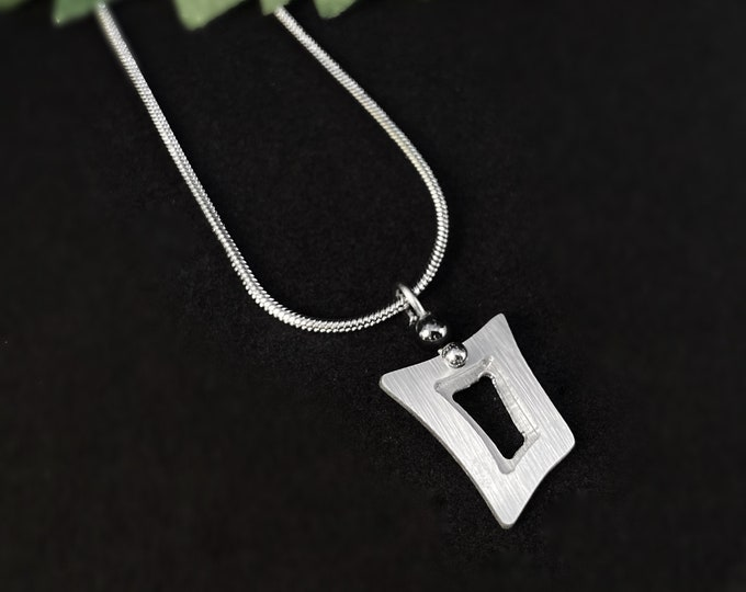 Handmade Aluminum Necklace, Hypoallergenic Lightweight - JR Franco Jewelry