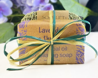Soap and Soap Lift Gift Set - Handmade in the USA - 5 Different Scents