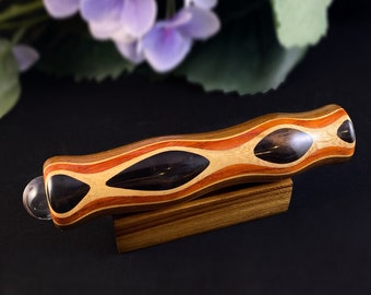 Handmade Wooden Teleidoscope with Ebony