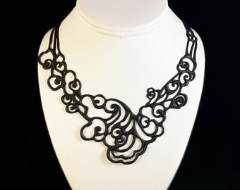 Flexible and Lightweight Necklace - Nickel-free, Latex-free, Handcrafted from Recyclable Materials