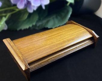 Mikutowski Woodworking Handmade Wooden Box with Padauk and Wenge