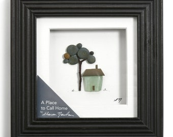 A Place Called Home, Sharon Nowlan Pebble Art