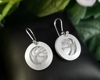 JR Franco Handmade Aluminum Tree of Life Earrings Hypoallergenic Lightweight