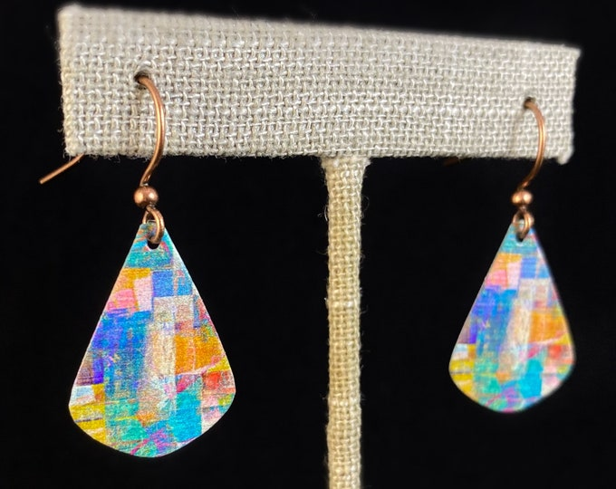Handmade Nickel Free Lightweight Earrings, Made in USA, Hypoallergenic