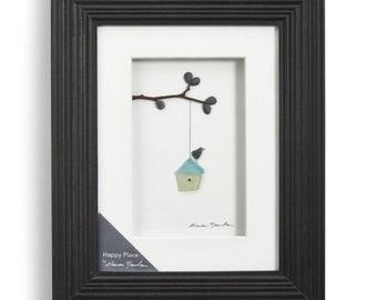 Happy Place, Sharon Nowlan Pebble Art