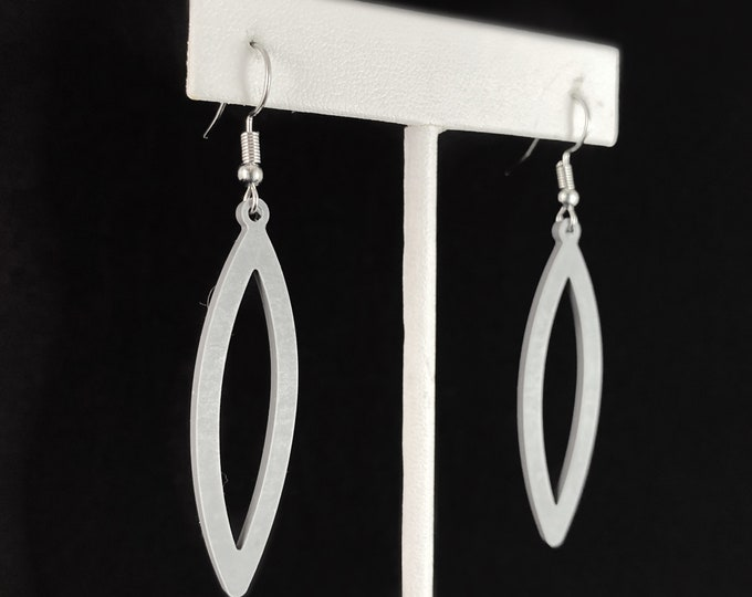 Flexible Lightweight Earrings - Gray