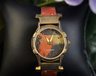 Watchcraft by Eduardo Milieris - Handcrafted Limited Edition Unisex Timepiece, Minstrel Collection