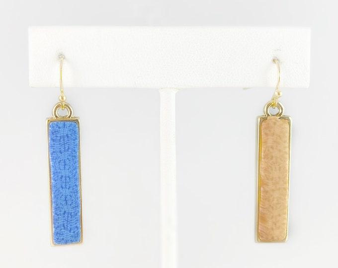 Reversible Polymer Clay Handmade Earrings