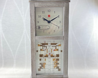 Frank Lloyd Wright Bluetooth Enabled Tabletop Clock