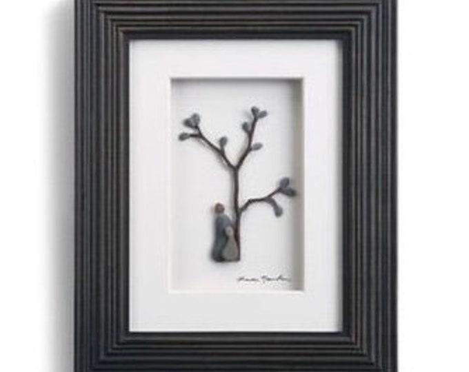 Birds of a Feather, Sharon Nowlan Pebble Art