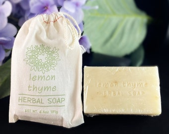 Herbal Soap in a Bag - Handmade in USA