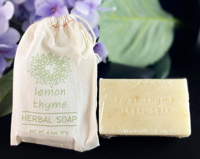 Herbal Soap in a Bag - Handmade in USA