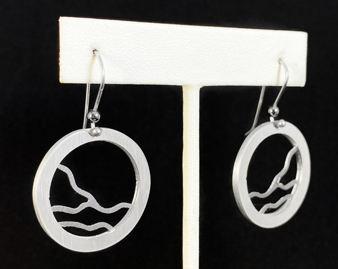 Handmade Aluminum Earrings, Hypoallergenic Lightweight - JR Franco Jewelry