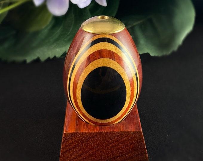 Handmade Wooden Egg Kaleidoscope