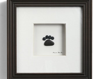 Paws are Forever, Sharon Nowlan Pebble Art