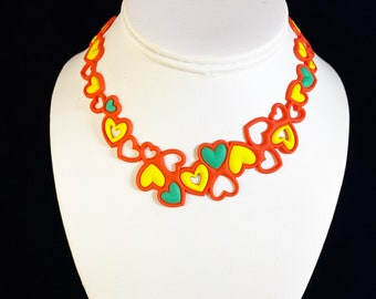 Flexible and Lightweight Necklace for Kids - Nickel-free, Latex-free, Handcrafted from Recyclable Materials