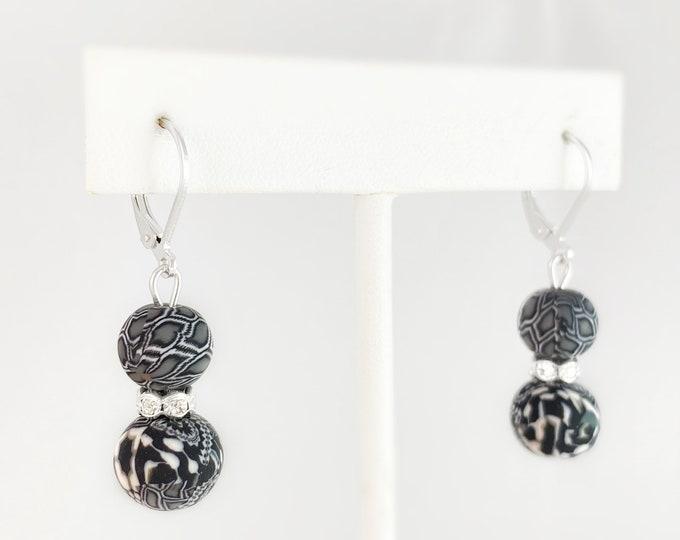 Polymer Clay Handmade Earrings