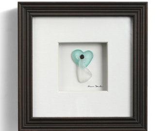 In My Heart, Sharon Nowlan Pebble Art