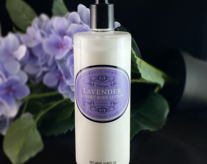 Luxury Body Lotion - Lavender, Verbena, Freesia and Pear, Ginger and Lime - Cruelty free, no animal testing