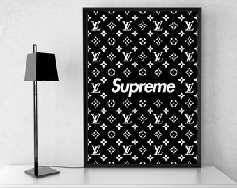 super popular 36df6 dfe2e Supreme louis vuitton | Etsy