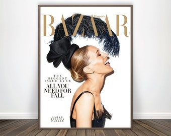 Vogue cover art   Etsy