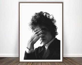 6fcffdc84 Bob Dylan Print Bob Dylan Poster Rock Music Poster Bob Dylan Wall Art Bob  Dylan Forever Young Bob Dylan Lyrics Rock Music Art Music Photo