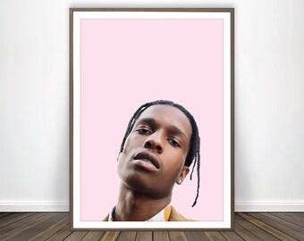 Asap rocky poster | Etsy