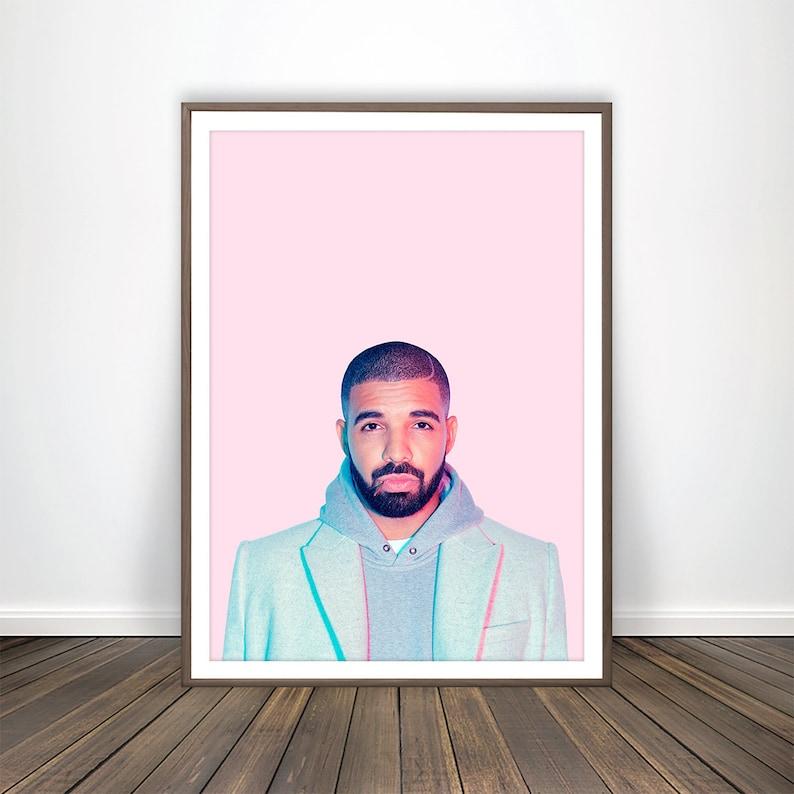 Kendrick Lamar INSPIRED WALL ART Print Poster Minimal A4 A3 HIP HOP RAP