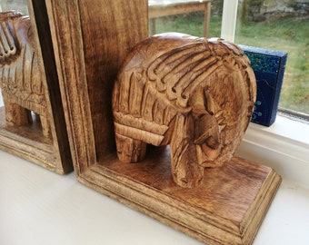 Elephant bookends | Etsy