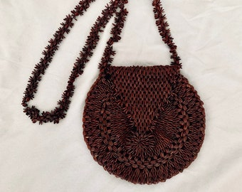 BOHO 70s women's vintage mini bag vintage shoulder bag with free shipping