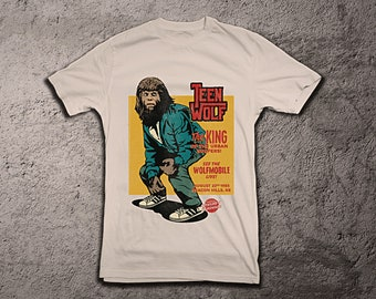 31f847306 Teen Wolf. 80s Cult Classic. Limited Edition Shirt.