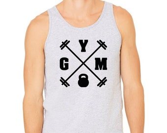 26c144299a50a4 Gym Tank Top for Men
