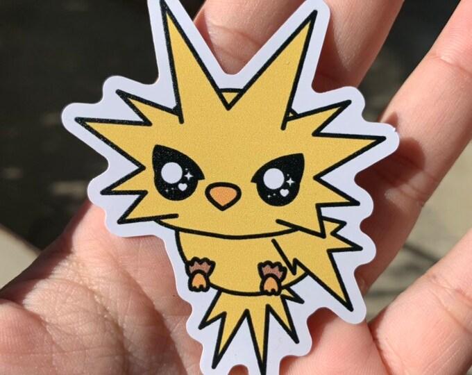 Zapdos Vinyl Sticker - Pokémon / Pokemon Sticker / Laptop Decal / Bumper Sticker / Deck Box / Sun and Moon