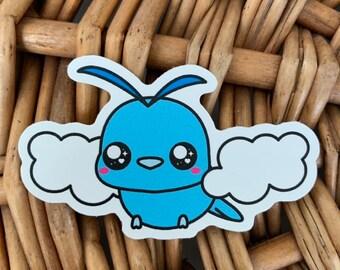 Swablu Vinyl Sticker - Pokémon / Pokemon Sticker / Laptop Decal / Bumper Sticker / Deck Box / Sun and Moon