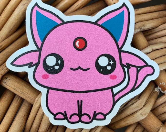 Espeon Vinyl Sticker - Pokémon / Pokemon Sticker / Laptop Decal / Bumper Sticker / Deck Box / Sun and Moon