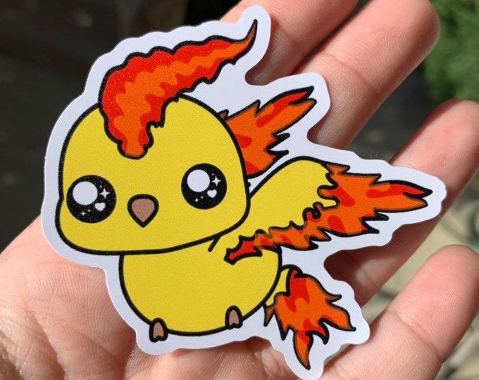 Moltres Vinyl Sticker - Pokémon / Pokemon Sticker / Laptop Decal / Bumper Sticker / Deck Box / Sun and Moon