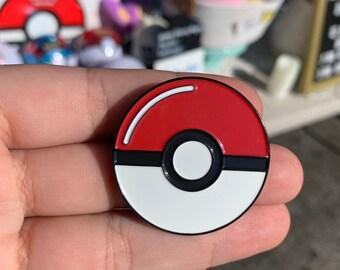 Pokéball Enamel Pin / Lapel Pin / Pokemon / Pokémon