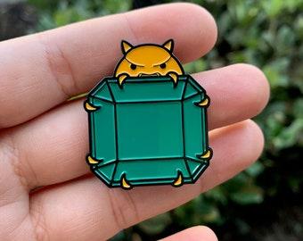 Power Emerald Enamel Pin