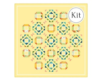 Fair and Square Quilt Kit