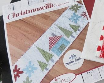 Christmasville Table Runner Kit