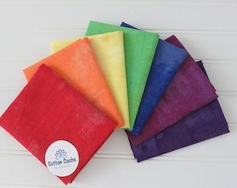 Moda Grunge Rainbow FQ Bundle CC 242